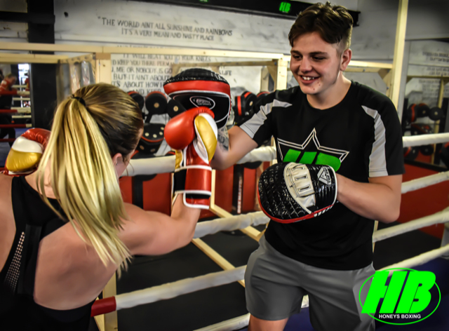 Charlie Gillies Personal Training at Honeys Boxing Gym Rayleigh