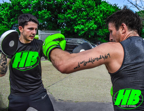 Donnie Lewis Personal Training at Honeys Boxing Gym Rayleigh