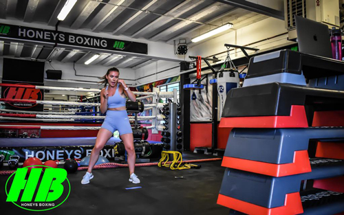 Georgia Wright Personal Training at Honeys Boxing Gym Rayleigh