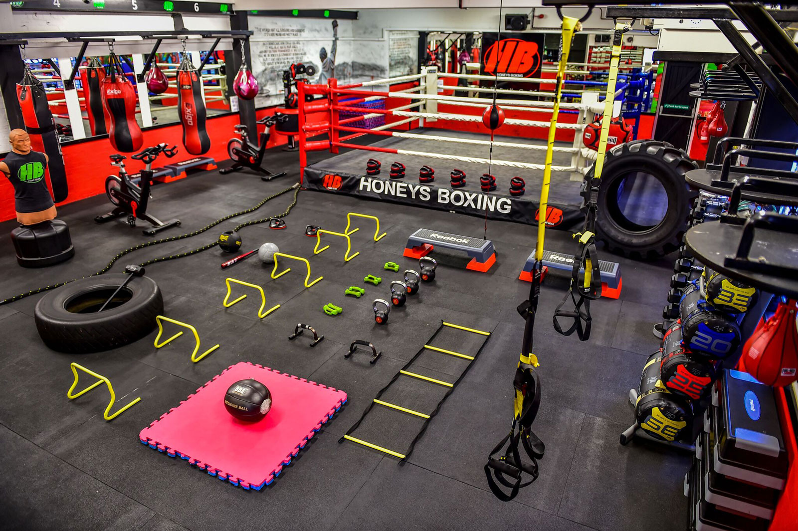 Boxing Gym Based in Rayleigh Essex, Honeys Boxing